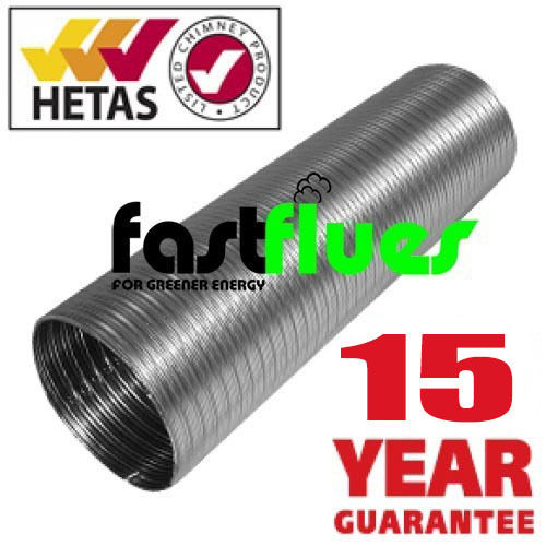 Flue Liner Multi Fuel 316 grade Ø 100 mm 4 Inch