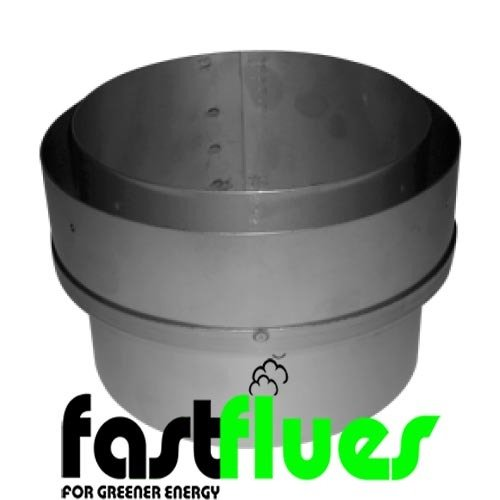 Flue Liner Adapter to SW MA x Ø 100 mm 4 Inch
