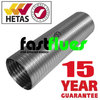 Flue Liner Multi Fuel 316 grade Ø 125 mm 5 Inch