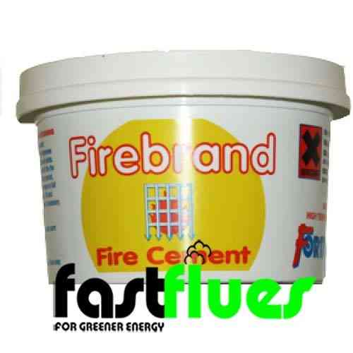 Fire cement 1 kg single tub (black)