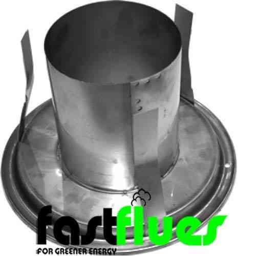 Rota-top 200 Flue Adapter - 200mm 8 Inch