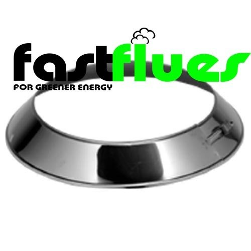 Twin Wall Stainless Steel Storm Collar - Ø 125 mm 5 Inch