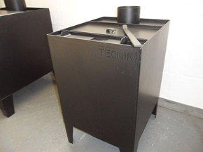 Industrial wood burner 8kw