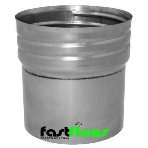 Flue Liner Adapter (rigid-flexi) x Ø 150 mm 6 inch (SCREW FIX)