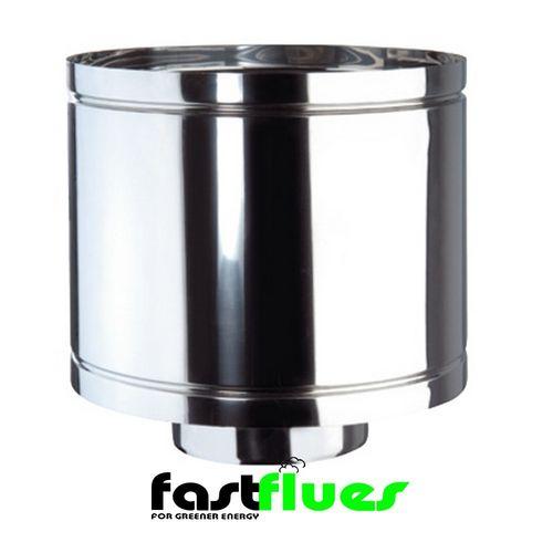 Single Wall  Flue All Weather Cowl - 175 mm 7 Inch